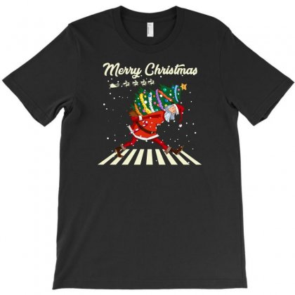 Merry Christmas Santa Claus T-shirt Designed By Gurkan