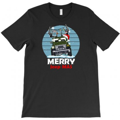 Merry Jeep Mas For Dark T-shirt Designed By Gurkan
