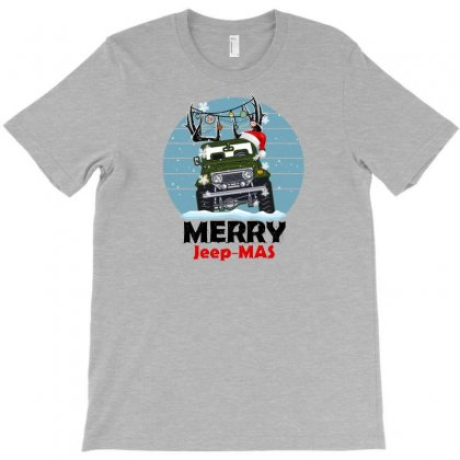 Merry Jeep Mas For Light T-shirt Designed By Gurkan