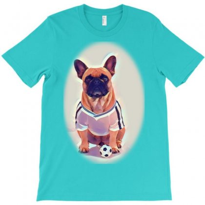 Cute Dogs And Cats Together Hrizontal Website T-shirt Designed By Kemnabi