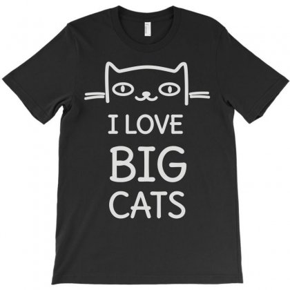 I Love Cats Funny T-shirt Designed By Fanshirt