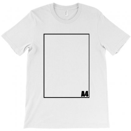 A4 Paper T-shirt Designed By Bud1