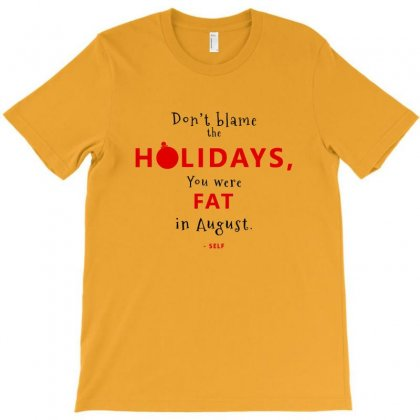 Christmas Fat T-shirt Designed By As99