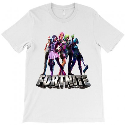 Fortnite Girls Squad T-shirt Designed By Tiococacola