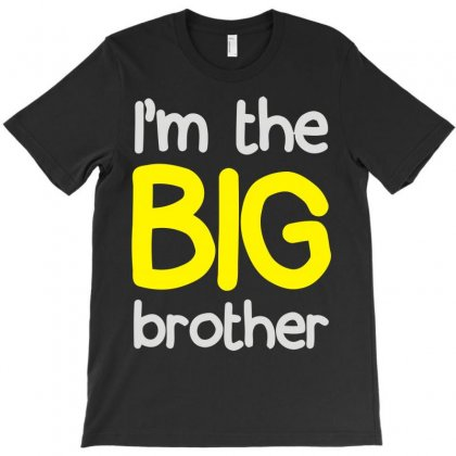 I'm The Big Brother T-shirt Designed By Lyly