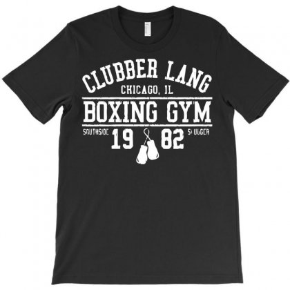 Clubber Lang Boxing Gym T-shirt Designed By Bud1