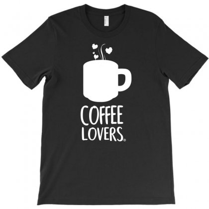 Coffee Lovers T-shirt Designed By Bud1