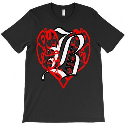 Love B T-shirt Designed By Nowlam