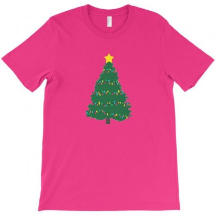 Christmas Tree T-shirt Designed By Arum