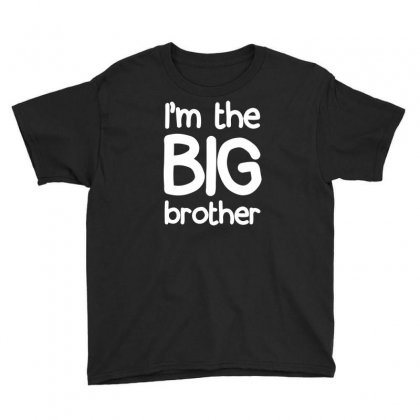 I'm The Big Brother Youth Tee Designed By Bud1
