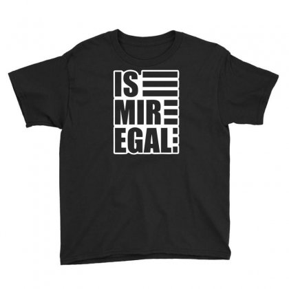 Is Mir Egal Youth Tee Designed By Bud1