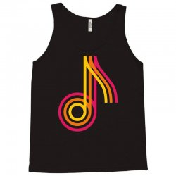 music note tricolor funny Tank Top | Artistshot