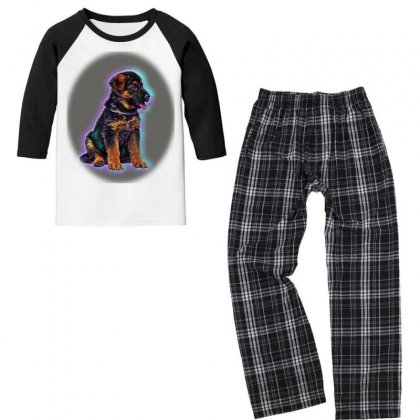Cropped Shot Of Young Africanme Walking With Youth 3/4 Sleeve Pajama Set Designed By Kemnabi