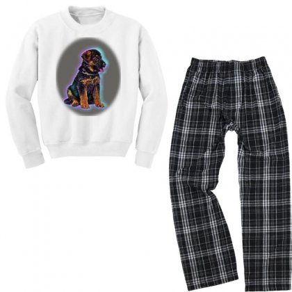 Cropped Shot Of Young Africanme Walking With Youth Sweatshirt Pajama Set Designed By Kemnabi