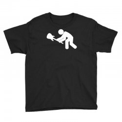 slamming guitar on the ground funny Youth Tee | Artistshot