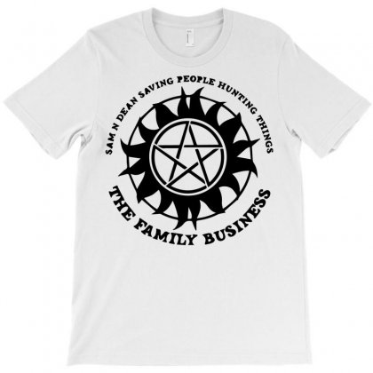 Sam And Dean Saving People T-shirt Designed By Bud1