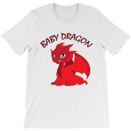 Baby Dragon T-shirt Designed By Emardesign