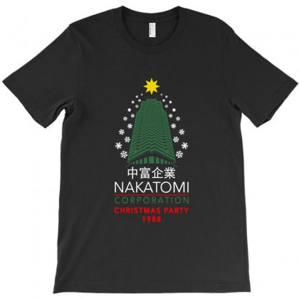 Nakatomi Christmas Party T-shirt Designed By Doniemichael