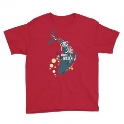 The life under water Youth Tee | Artistshot