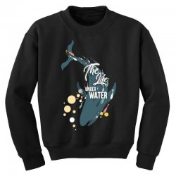 The life under water Youth Sweatshirt | Artistshot