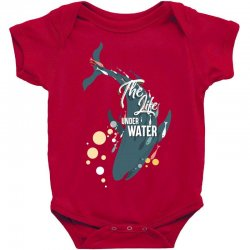 The life under water Baby Bodysuit | Artistshot