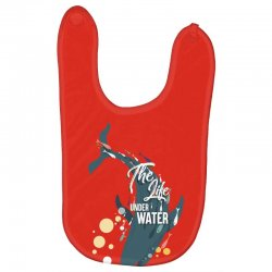 The life under water Baby Bibs | Artistshot