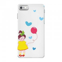Little girl iPhone 7 Case | Artistshot