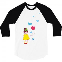 Little girl 3/4 Sleeve Shirt | Artistshot