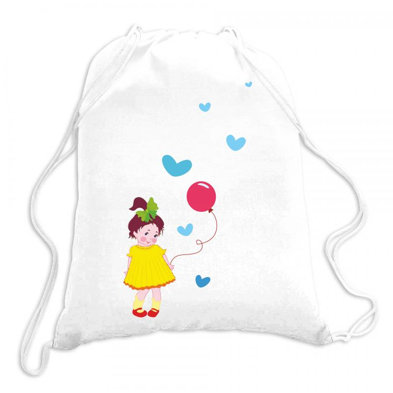 Little Girl Drawstring Bags | Artistshot
