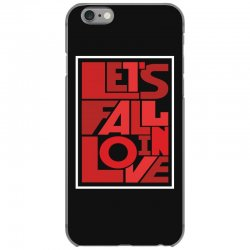 Let's fall in love iPhone 6/6s Case | Artistshot