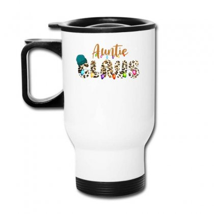 Auntie Claus Travel Mug Designed By Sengul