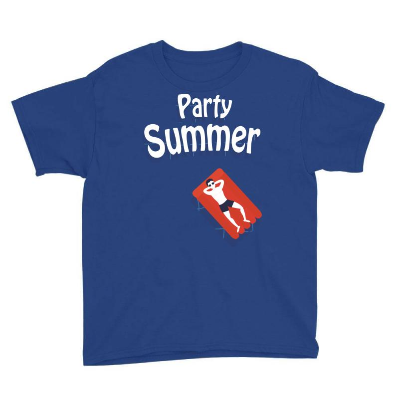 Party Summer Youth Tee   Artistshot