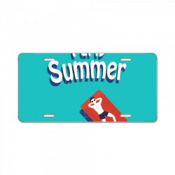 Party summer License Plate | Artistshot