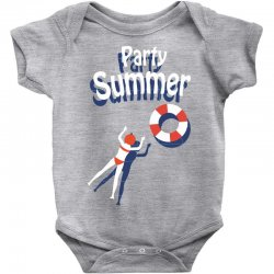 Party summer Baby Bodysuit | Artistshot