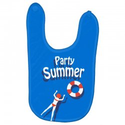 Party summer Baby Bibs | Artistshot