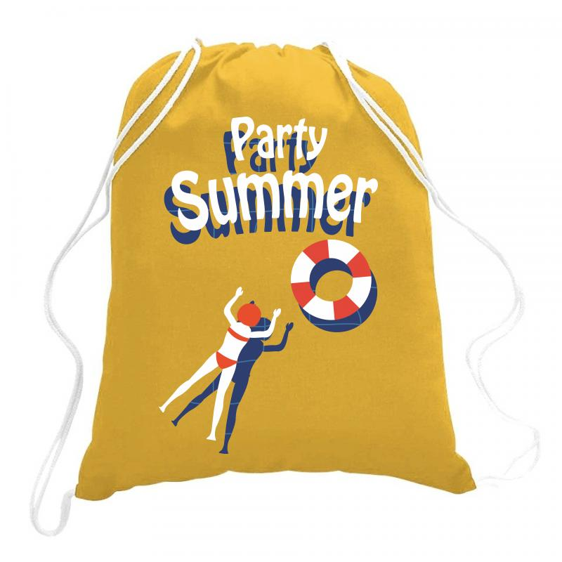Party Summer Drawstring Bags | Artistshot
