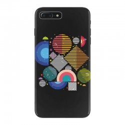 Geometric shapes iPhone 7 Plus Case | Artistshot