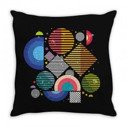Geometric shapes Throw Pillow | Artistshot