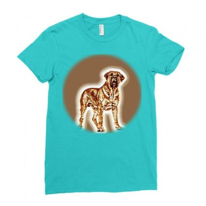 Stylish Compositon Of Retro H Poster Frame, D Ladies Fitted T-shirt Designed By Kemnabi