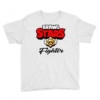 Brawl Stars Fighter Youth Tee Designed By Doing