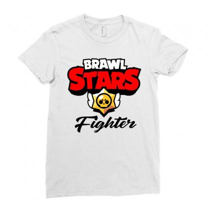 Brawl Stars Fighter Ladies Fitted T-shirt Designed By Doing