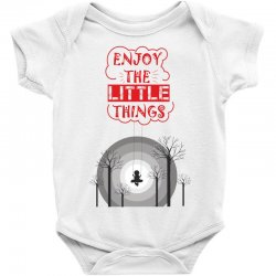 Enjoy the little things Baby Bodysuit | Artistshot