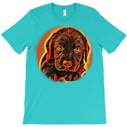 Sunset Portrait Of A King Chas Is A Very Lovi T-shirt Designed By Kemnabi