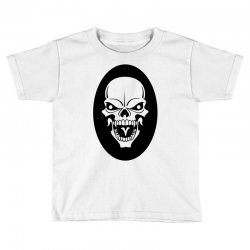 Skull Toddler T-shirt | Artistshot