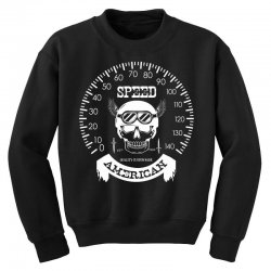 Speed American Youth Sweatshirt | Artistshot