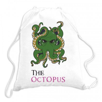 The Octopus Drawstring Bags Designed By Estore