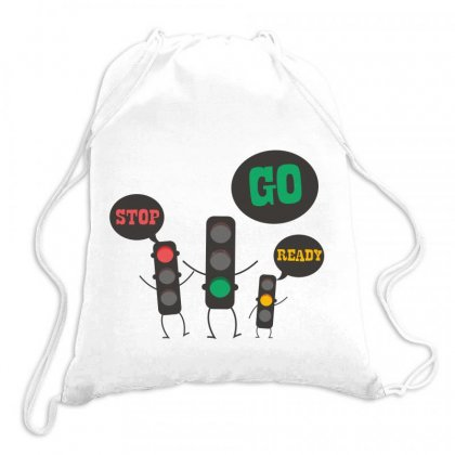 Stop Go Ready Drawstring Bags Designed By Estore
