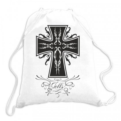 The Cross Drawstring Bags Designed By Estore