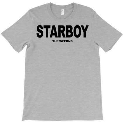 Starboy The Weeknd T-shirt Designed By Starlight