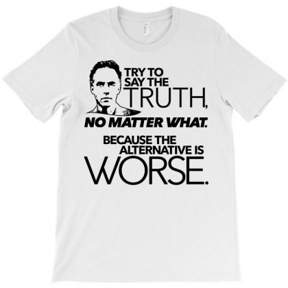 Try To Say The Truth T-shirt Designed By Starlight